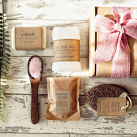 'Harmonia' Vegan 'Pamper Me Time' Bath Set - Aphrodite and Ares ethical store