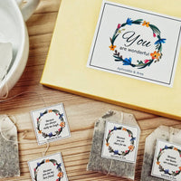 Reasons you are wonderful personalised tea bags - Aphrodite and Ares ethical store