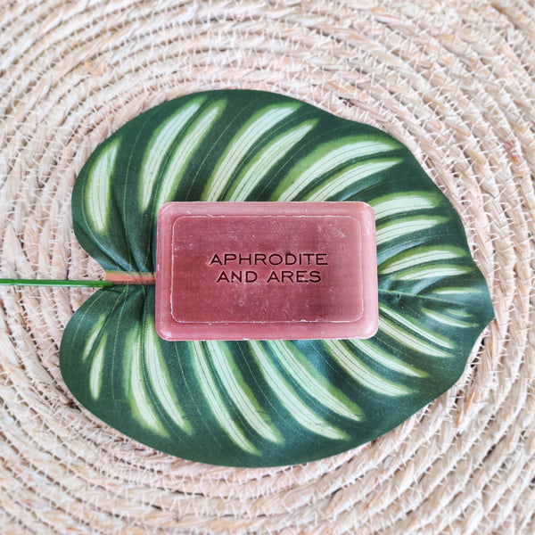 Vegan Soap with organic Shea Butter - Aphrodite and Ares ethical store