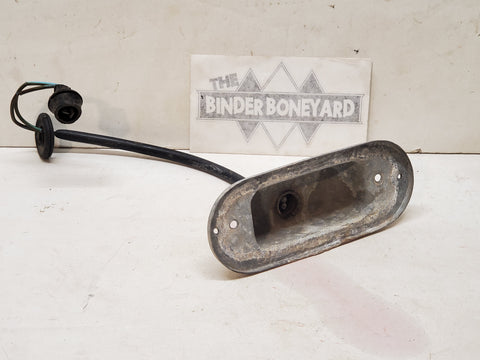 61-68 International C-series Pickup Travelall Travelette Passenger side turn signal housing