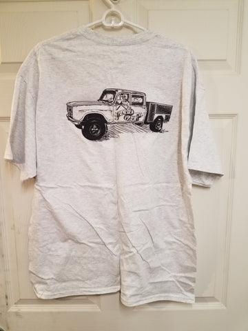 Binder Boneyard Men's T-shirt in Grey