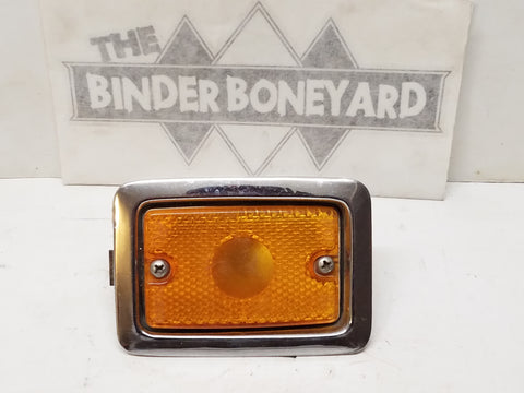 International Scout II Pickup Travelall Travelette metal marker light housing and lense