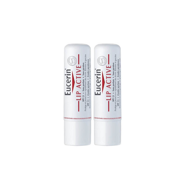 Lip Active Lip Balm SPF15 for Dry Sensitive Lips - Pack of 2 x 4.8g