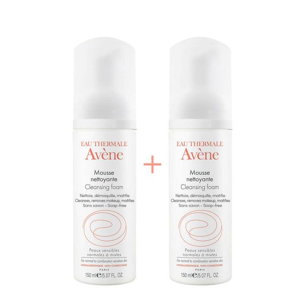 Cleansing Foam - Normal to Combination Sensitive Skin - Pack of 2 x 150ml
