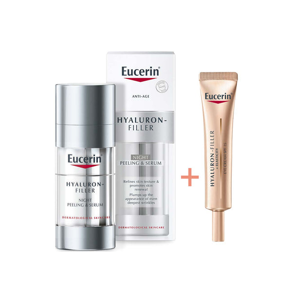 Hyaluron-Filler Anti Age Night Peeling & Serum Bundle