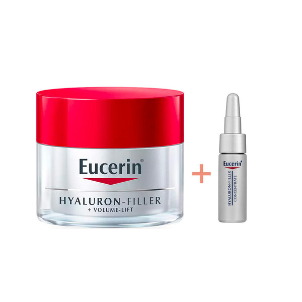Hyaluron-Filler + Volume Lift Anti Age Day Cream SPF15 - Dry Skin Bundle