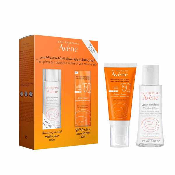 Optimal Sun Protection for Sensitive Skin - Dry Skin Set