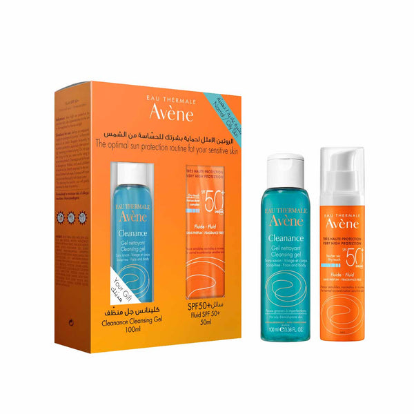 Optimal Sun Protection for Sensitive Skin - Normal/Oily Skin Set