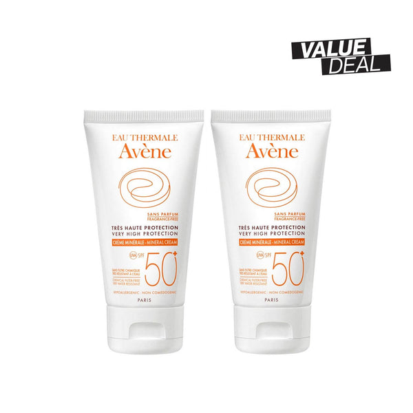 Very High Protection Mineral Cream SPF50+ Bundle