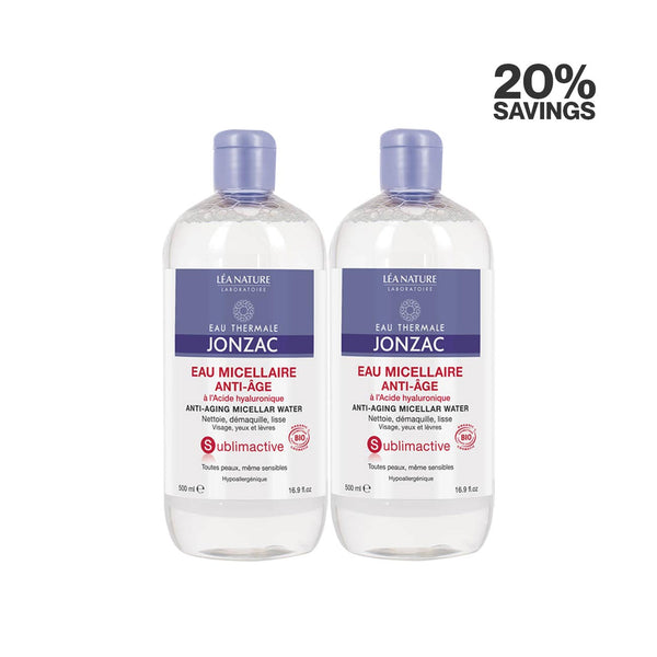 Sublimactive Anti-Aging Micellar Water - Pack of 2