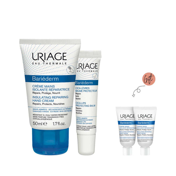 Bariéderm Hand and Lip Care Bundle