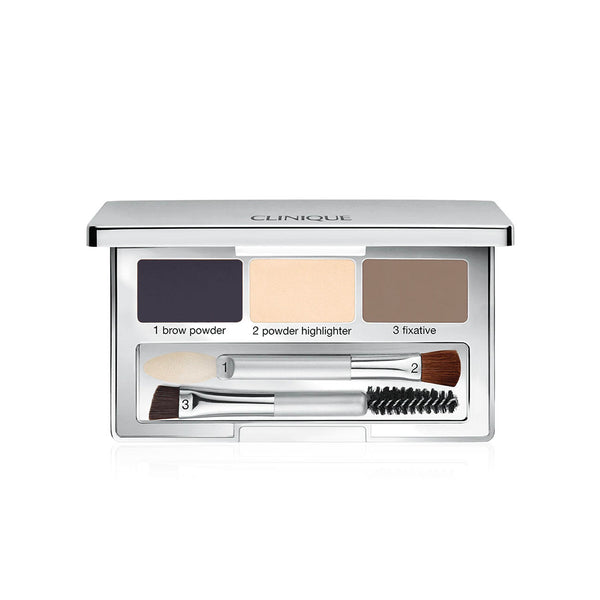Pretty Easy Brow Palette For Darker Brows - 3 Powders