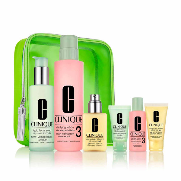 Great Skin Anywhere Gift Set: Oily Skin (Types 3 and 4)