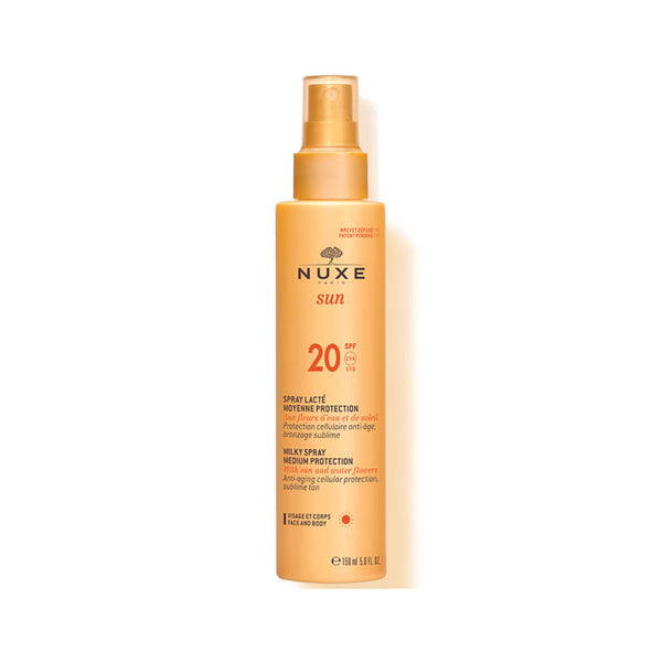 Sun Milky Spray for Face & Body Medium Protection SPF20