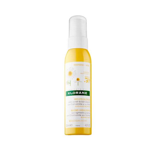 Blond Highlights Sun Lightening Spray with Chamomile and Honey - Blond Hair