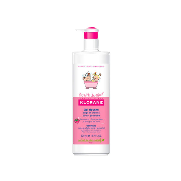 Petit Junior Shower Gel Body and Hair - Raspberry Fragrance