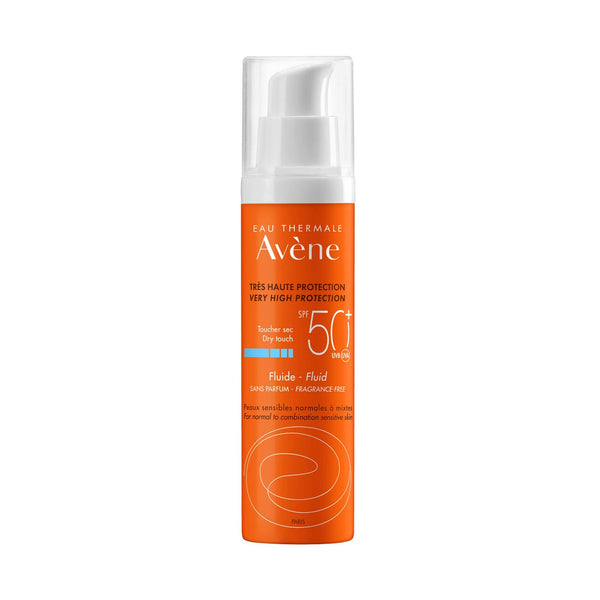 Very High Protection Dry Touch Fluid SPF50+ - Normal to Combination Sensitive Skin