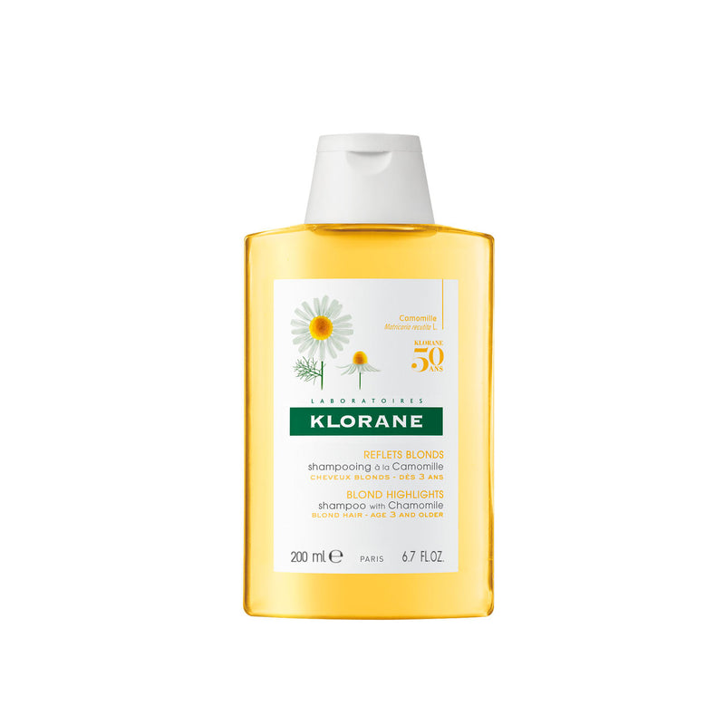Blond Highlights Shampoo with Chamomile - Blond Hair