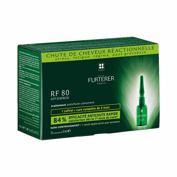 RF 80 ATP Energie Concentrated Serum Anti Hair Loss - Pack of 12 Bulbs x 5ml