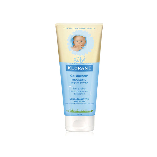 Bébé Gentle Foaming Gel - Body and Hair