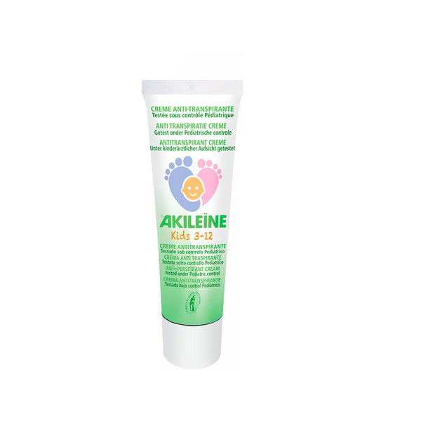 Akileine Anti-Perspirant Cream Kids 3-12 Years