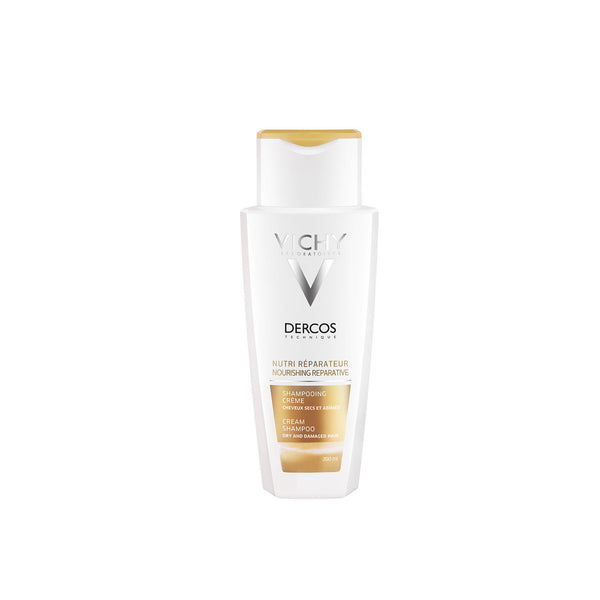 Dercos Nourishing Reparative Cream Shampoo - Dry and Damaged Hair