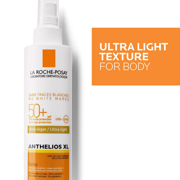 Anthelios XL SPF50+ Ultra-Light No White Marks Spray