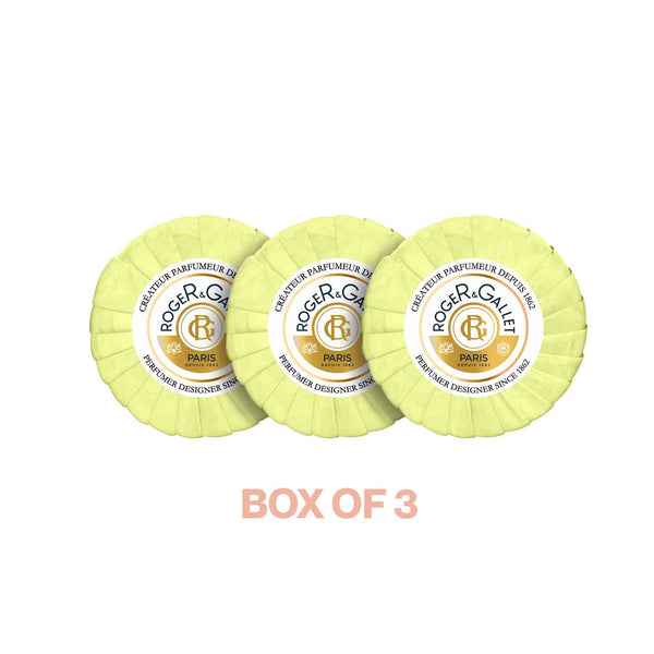 Fleur d'Osmanthus Perfumed Soaps - Box of 3 Soaps x 100g