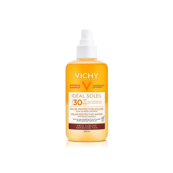 Capital Soleil Solar Protective Water With Beta Carotene SPF30 - Enhanced Tan