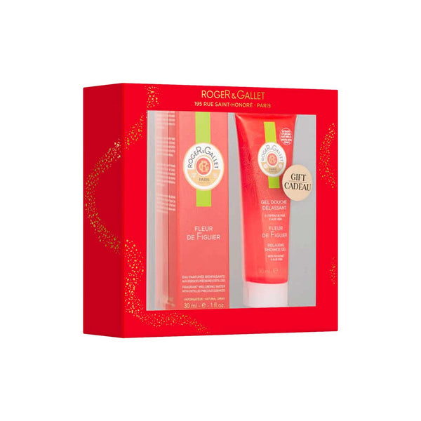 Fleur de Figuier Gift Set: Fragrant Well-Being Water 30ml + FREE Shower Gel 50ml