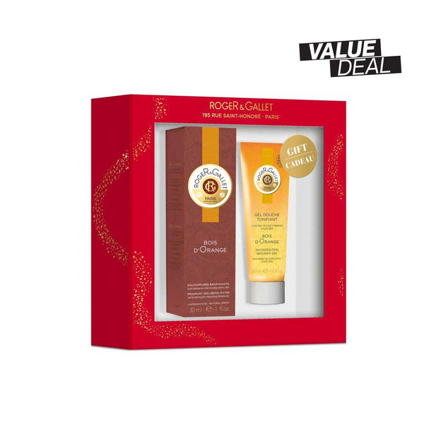 Bois d'Orange Gift Set: Fragrant Well-Being Water 30ml + FREE Shower Gel 50ml