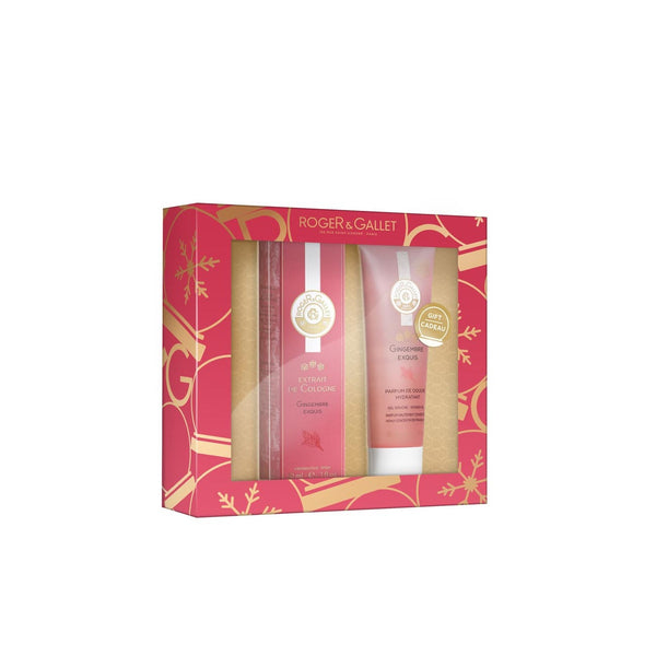 Gingembre Exquis Gift Set: Extrait de Cologne 30ml + FREE Shower Gel 50ml
