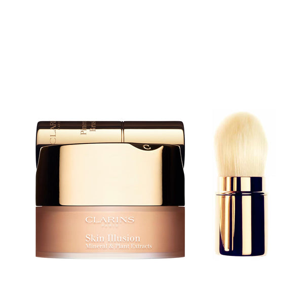 Skin Illusion - Loose Powder Foundation with Brush