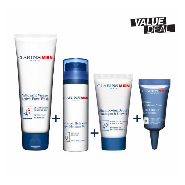 ClarinsMen Grooming Collection Set