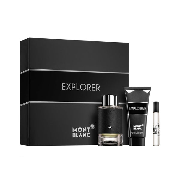 Explorer Gift Set: Eau de Parfum 100ml + Shower Gel 100ml + Eau de Parfum Travel Size 7.5ml