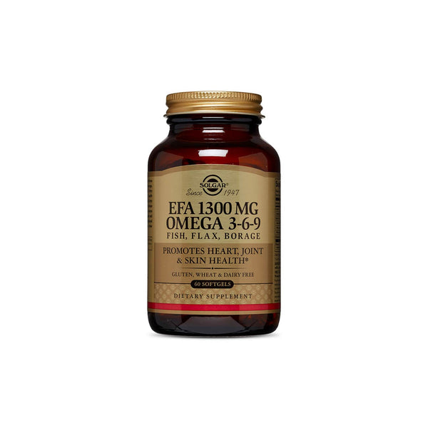 EFA 1300mg Omega 3-6-9 Fish, Flax, Borage