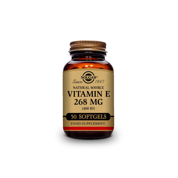 Natural Source Vitamin E 268mg (400 IU)