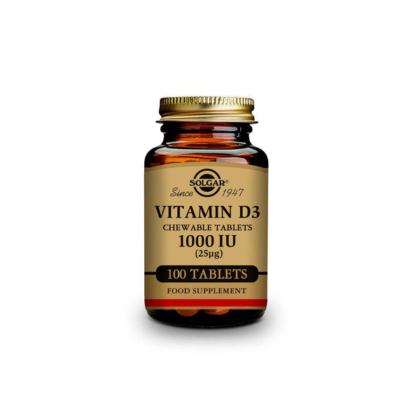 Vitamin D3 Chewable Tablets 1000 IU