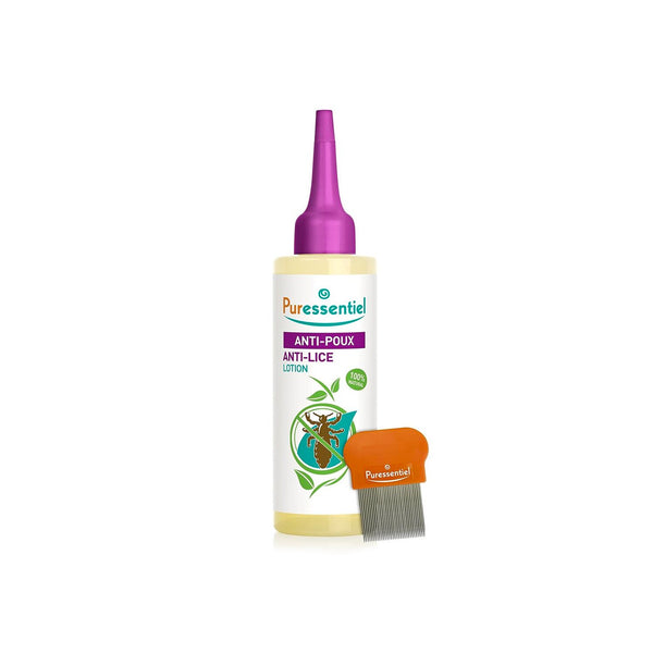 Anti-Lice Treatment Lotion with Comb