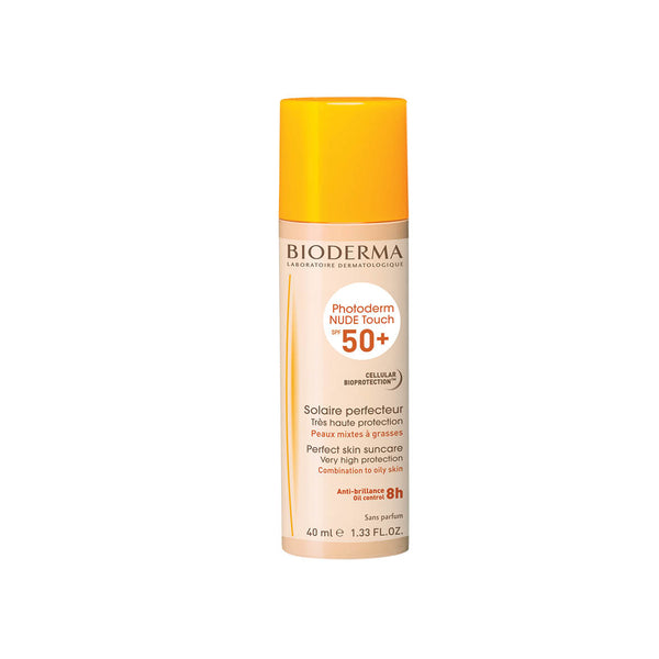 Photoderm NUDE Touch SPF50+ Perfect Skin Suncare Very High Protection for Combination to Oily Skin
