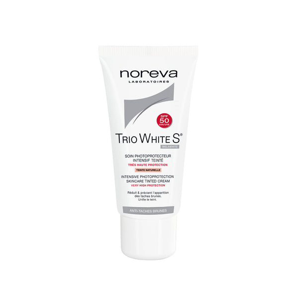 Trio White S Intensive Photoprotection Skincare Tinted Cream SPF50 - Very High Protection - Anti-Brown Spots
