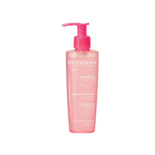 Sensibio Gel Moussant - Mild Cleansing Foaming Gel for Sensitive Skin