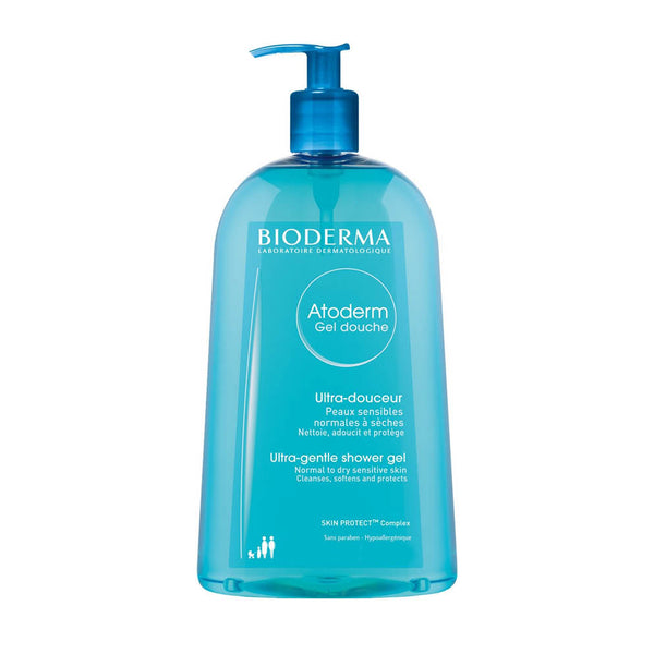 Atoderm Gel Douche - Ultra-Gentle Shower Gel for Normal to Dry Sensitive Skin