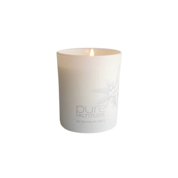 Snow Flowers Scented Candle