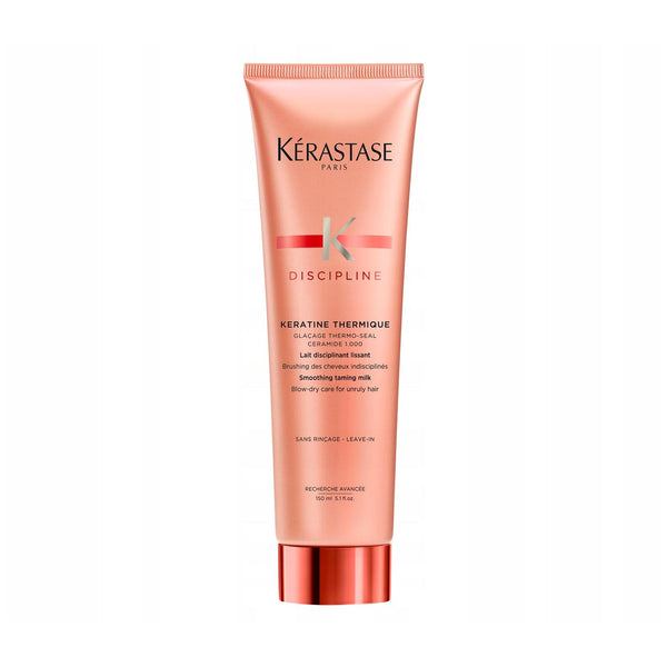 Discipline Keratine Thermique Smoothing Taming Milk - Blow-Dry Care for Unruly Hair - Leave-In