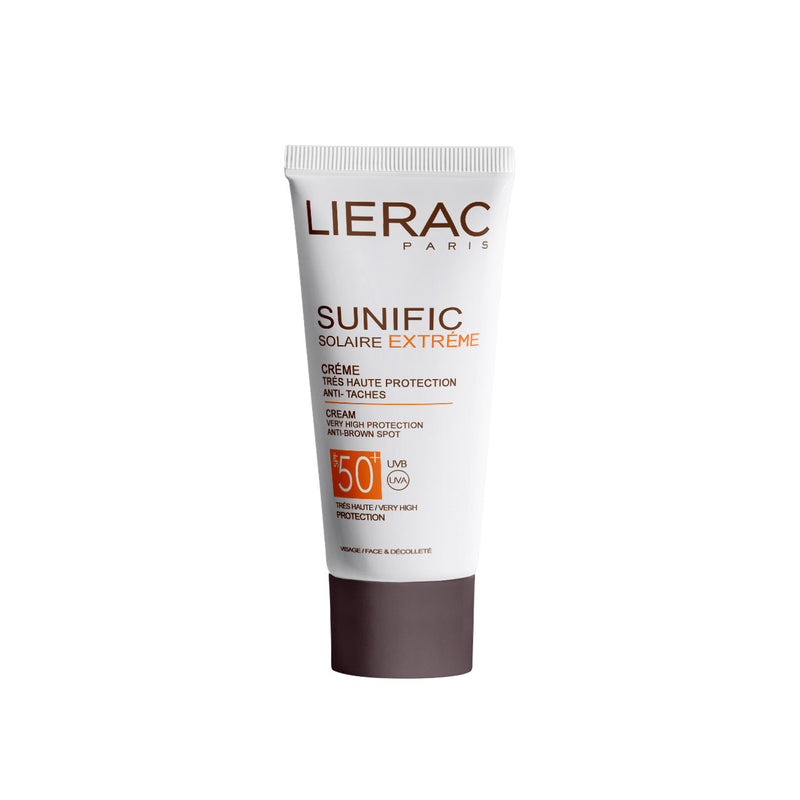 Sunific Solaire Extreme Cream SPF50+ - Very High Protection, Anti-Brown Spot