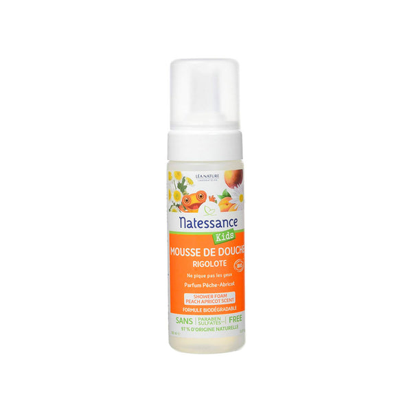 Kids Shower Foam - Peach Apricot Scent