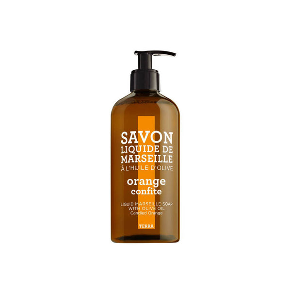 Terra Liquid Marseille Soap with Olive Oil - Candied Orange