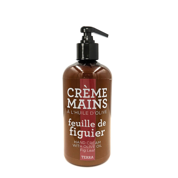 Terra Hand Cream with Olive Oil - Fig Leaf