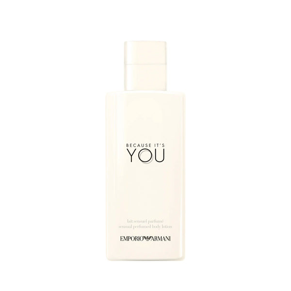 Emporio Armani Because It's You - Sensual Perfumed Body Lotion